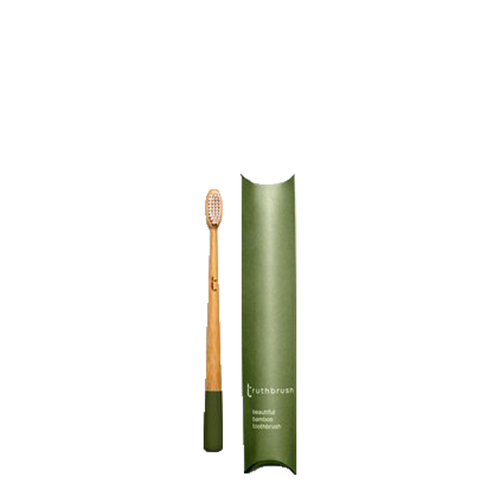 The Truthbrush - Moss Green with Medium Bristles
