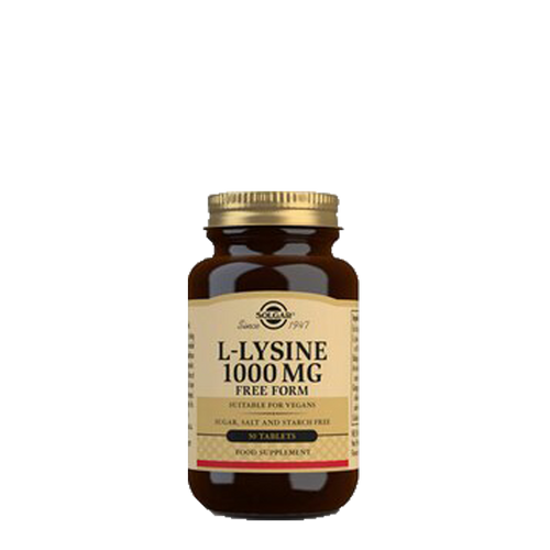 L-Lysine 1000mg 50-tablets