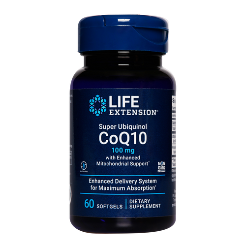 Life Extension Super Ubiquinol CoQ10 with Enhanced Mitochondrial Support, is highly bioavailable, which means it's easy for the body to absorb. Combined with PrimaVie® shilajit the rate of absorption increases to help promote the body's youthful cellular energy production
