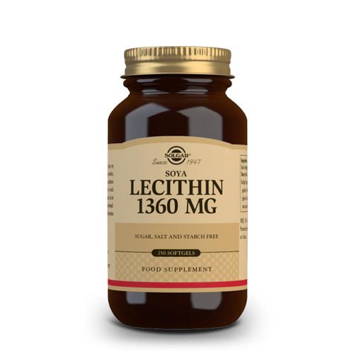 Lecithin 250-softgels