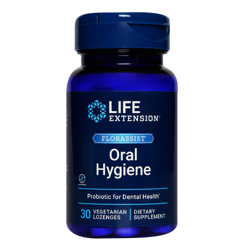 Florassist Oral Hygiene:  Quickly provides healthy, targeted probiotics to the oral cavity.