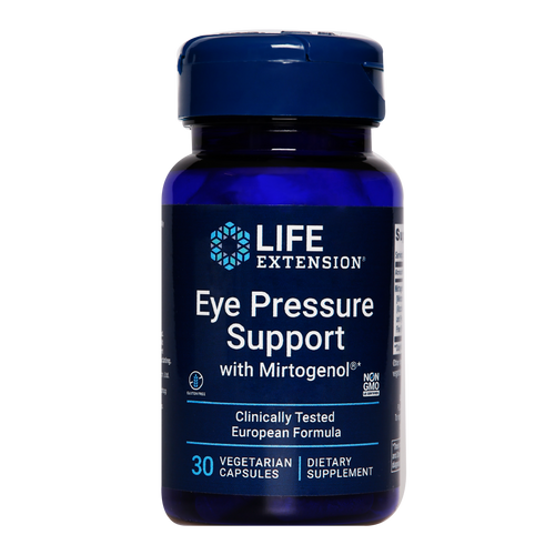 Life Extension Eye Pressure Support helps support healthy eye circulation and promote healthy eye pressure.