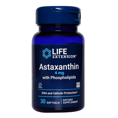 Life Extension Astaxanthin is absorbed more effectively delivering this potent antioxidant into each cell for its multiple benefits