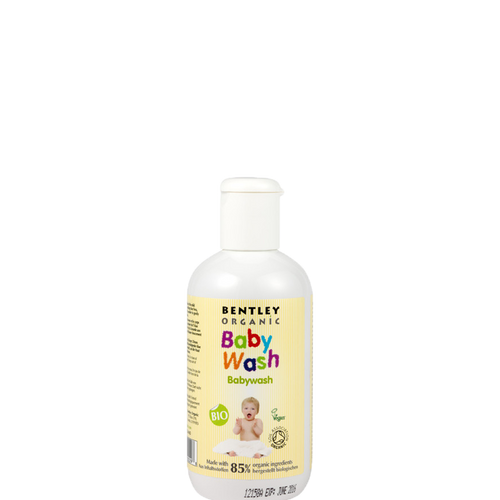 Bentley Organic Baby Wash is a mild baby wash suitable for hair and body