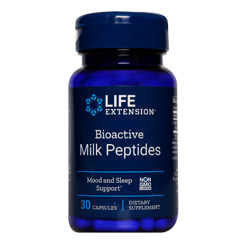 Bioactive Milk Peptides are proteins that reduce stress markers to promote relaxation & improve sleep