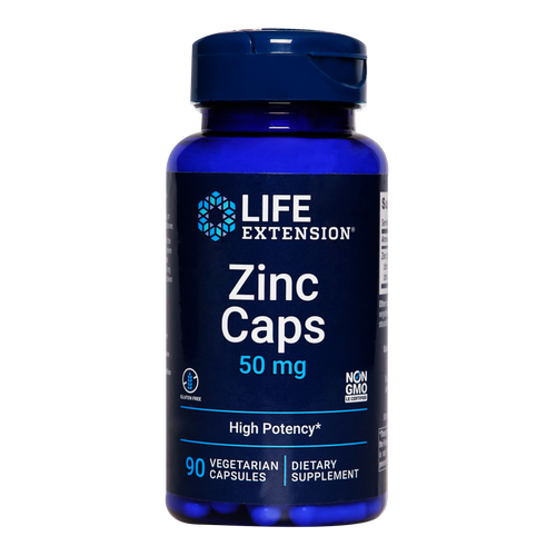 Life Extension Zinc Caps: Use high absorption zinc capsules to help support healthy immune function, healthy inflammatory and antioxidant responses whilst helping to correct zinc deficiency in the body.