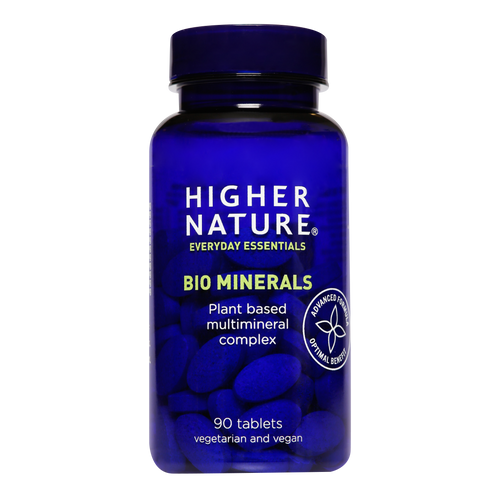 Higher Nature Bio Minerals tablets contain natural-source minerals not found in most multivitamins