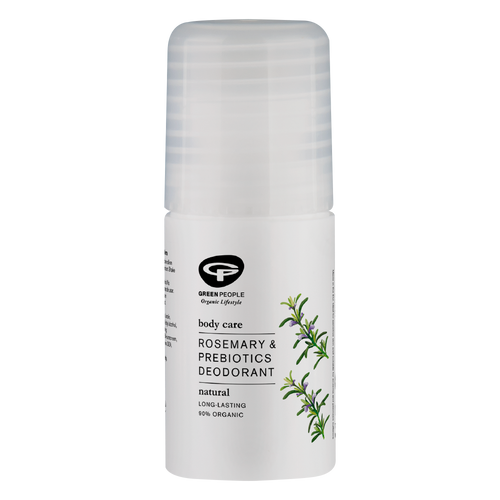 Natural and non-irritating,Green People's Organic Rosemary & Prebiotics Deodorant for women is refreshing,antibacterial andcomes witha delicate floral scent.