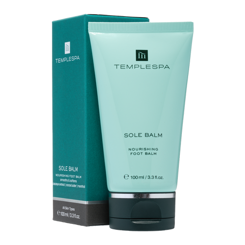Treat cracked heels and hard skin with thiseffective Sole Balmfrom Temple Spathat leaves feet gloriously soft and smooth.