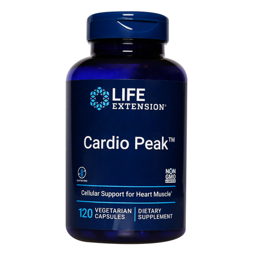 Cardio Peak improves blood flow in the heart tissues & improves heart muscle tone
