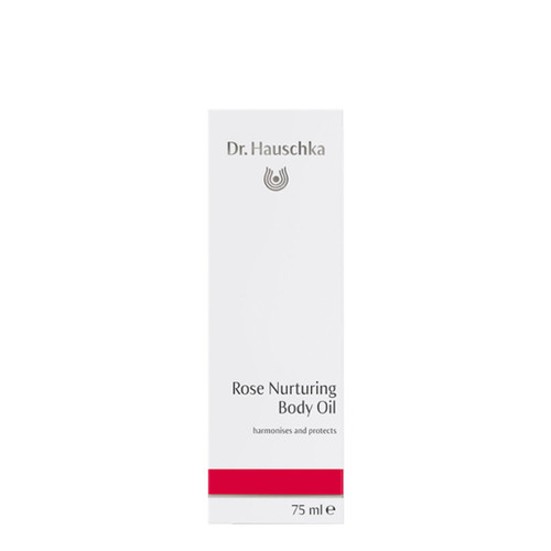 Dr. Hauschka's Rose Nurturing Body Oil is a delicate nourishing body oil which helps strengthen skin, while easing anxiety and exhaustion.