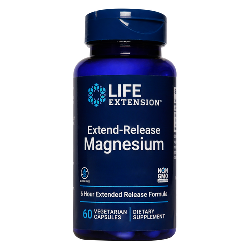 Extend-Release Magnesium Supports cardiovascular health, bone health & more.