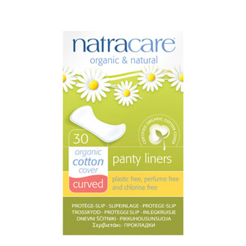 Curved Natural Panty Liners