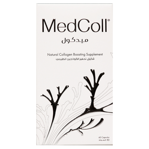 MedColl capsules egenerate new collagen in the body and replenish hyaluronan and elastin in the skin.