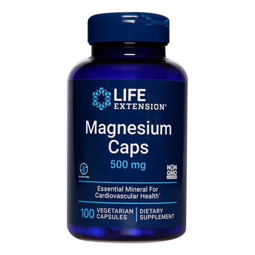 Life Extension Magnesium Caps offers the daily dose of magnesium your body needs to support heart and bone health, healthy energy metabolism, brain function and much more.