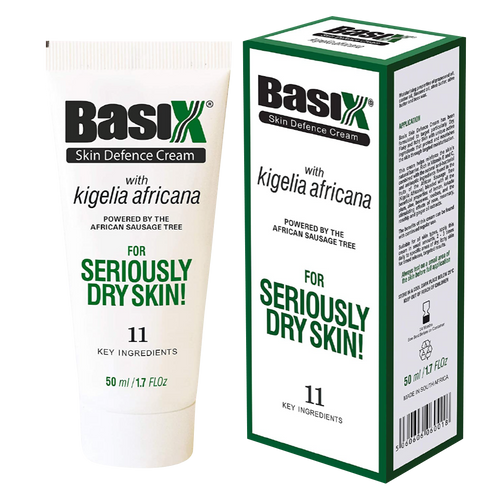 Basix Skin Defence Cream has been formulated with natural ingredients to target dry skin conditions and provide soothing relief in eczema, psoriasis and atopic dermatitis.