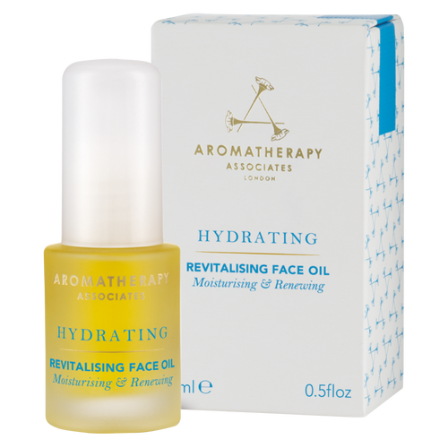 Restore your skin's natural glow and vitality with this beautiful Rose and Frankincense Revitalising Face Oil from Aromatherapy Associates.