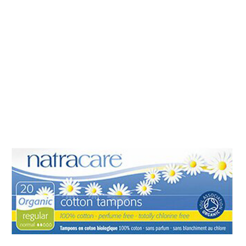 Natracare tampons are made from 100% certified organic cotton grown without pesticides and 100% sustainable.