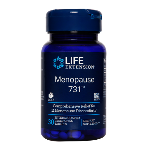 Menopause 731 combats hot flushes, night sweats, mood swings, joint pain & several other symptoms of menopause