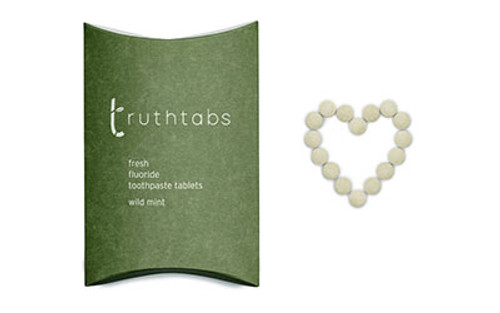 Truthtabs - Wild Mint Flavour Toothpaste Tablets - 3 Months Supply