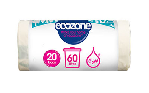 Biodegradable Bin Liners 60L