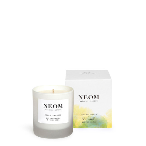 Neom Feel Refreshed Single Wick Scented Candle