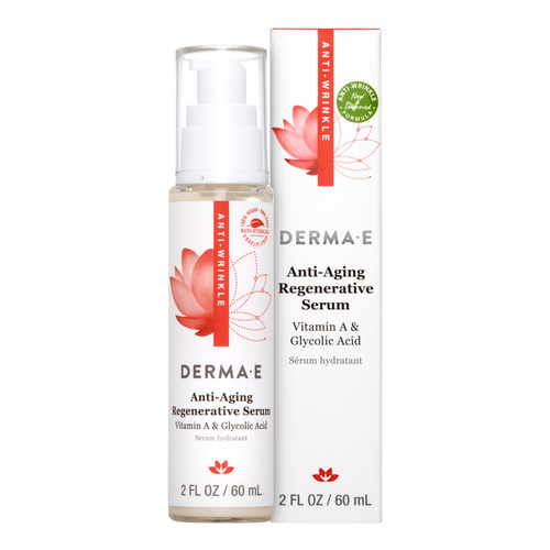 Derma E Anti-Aging Regenerative Serum helps achieve softer, smoother & healthier complexion