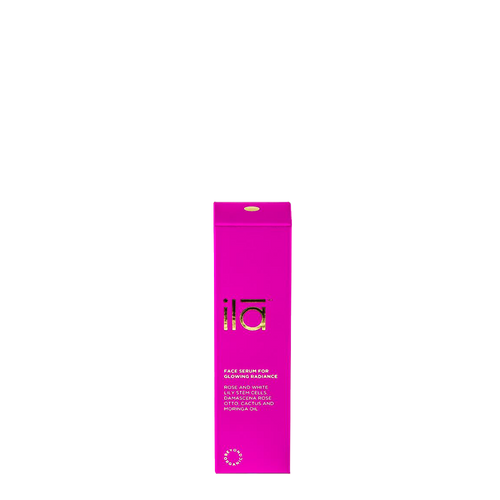 ila face oil for glowing radiance is your 'little miracle' for restoring glow & radiance to dull & tired skin.