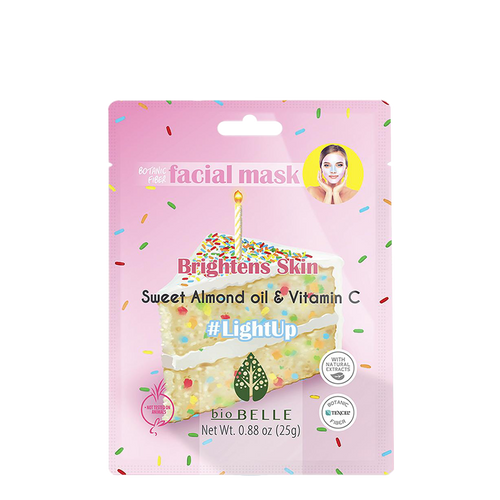 Biobelle LightUp Botanical Fibre Face Mask gives your skin a major boost of this good-for-you ingredients.