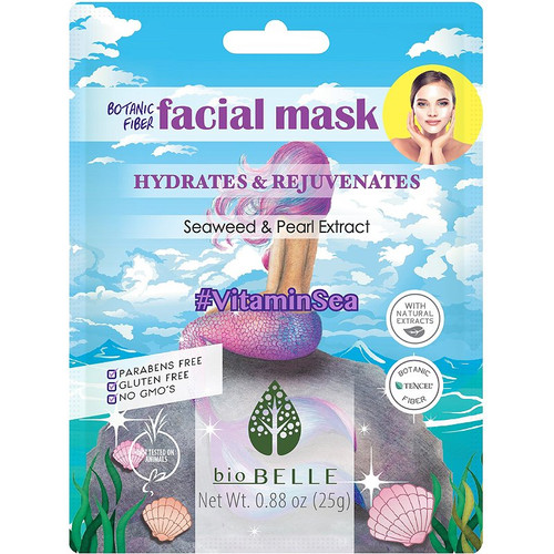 Biobelle Vitamin Sea Facial mask is a powerful hydrating face mask for dry skin.