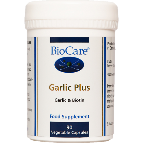 Garlic Plus help maintain heart health, maintain normal cholesterol levels and contributes to vascular health, contributes to normal immune function.