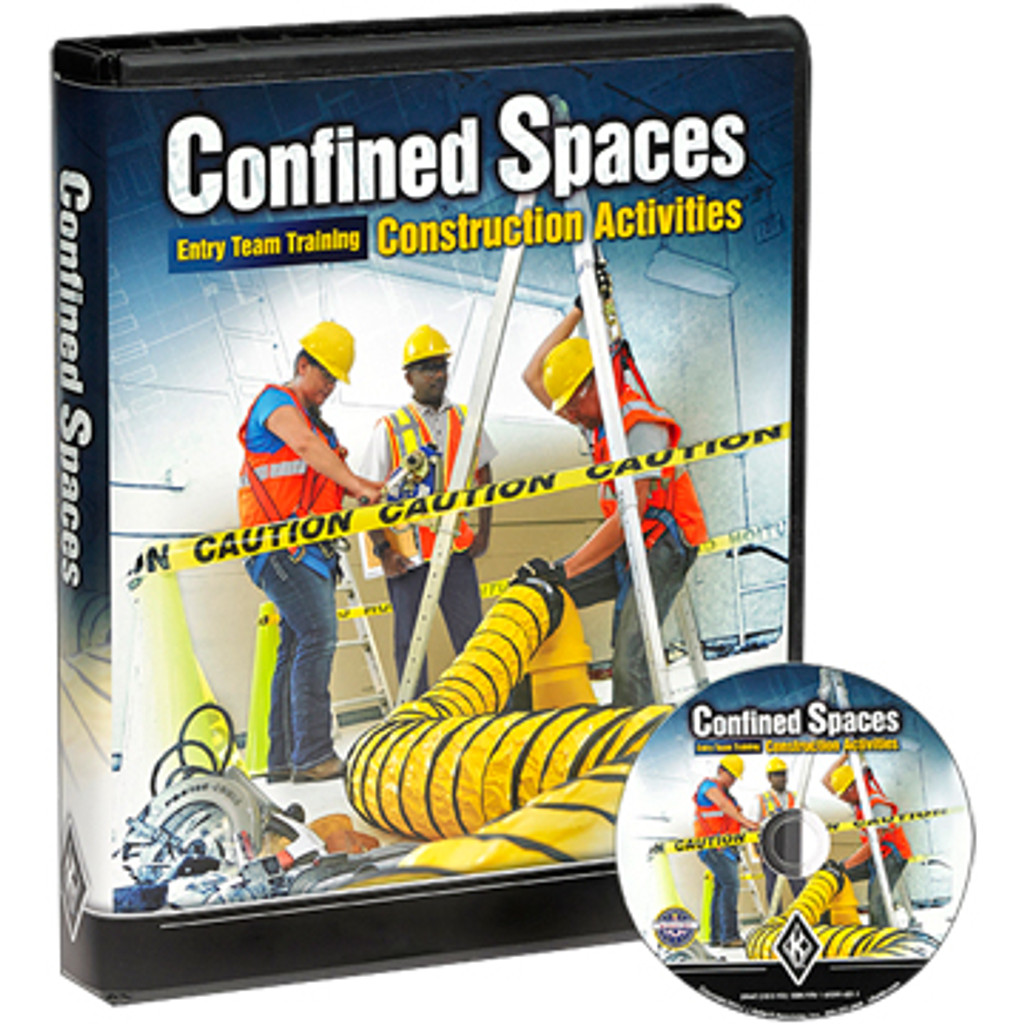 Confined Spaces: Entry Team Training - Construction Activities - DVD Training