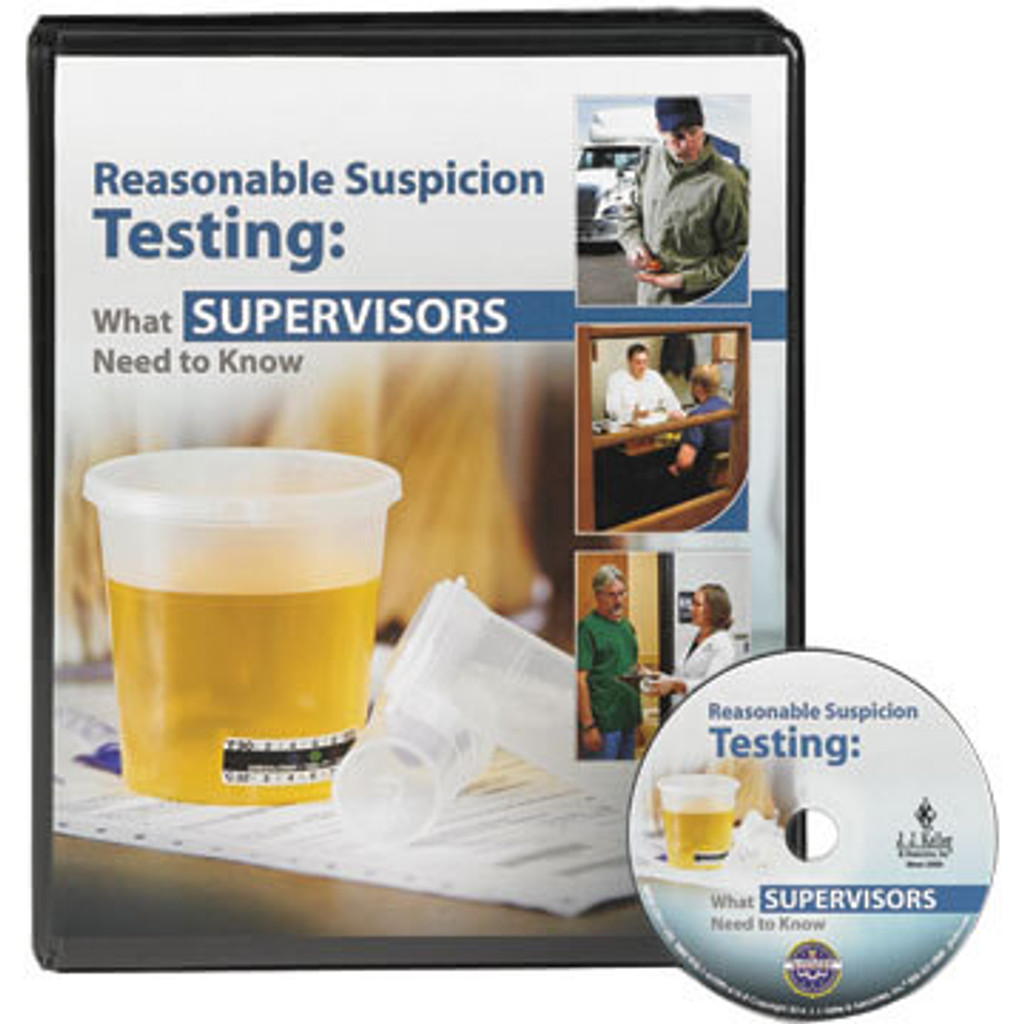Reasonable Suspicion Testing: What Supervisors Need To Know - DVD Training