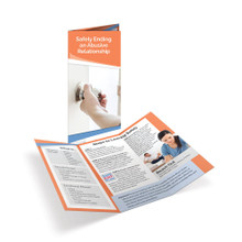 Safely Ending an Abusive Relationship Tri-Fold Brochures