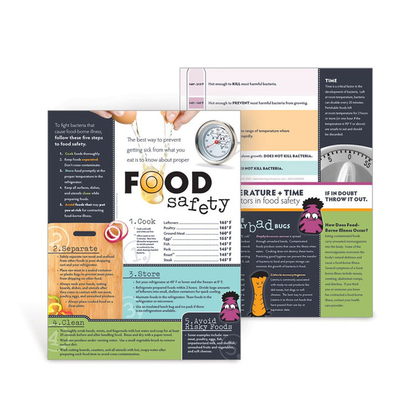 Food Safety  Handouts (50 Pack)