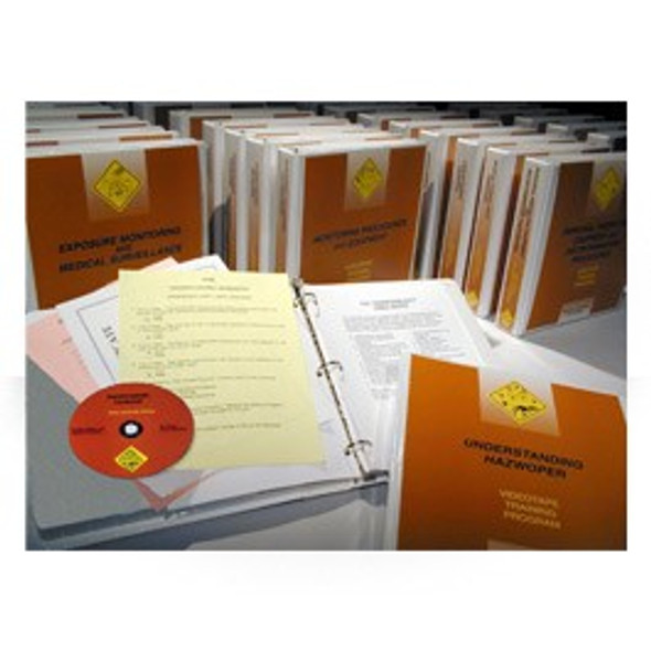Complete 40 Hour HAZWOPER Training Series CD-ROM Package