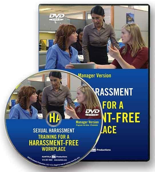 Sexual Harassment: Training for a Harassment-Free Workplace, DVD Series - Manager Version