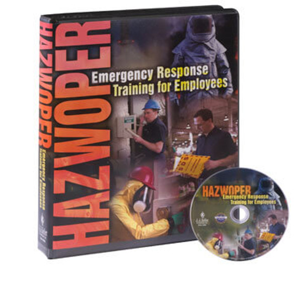 HAZWOPER Emergency Response Training for Employees - DVD Training