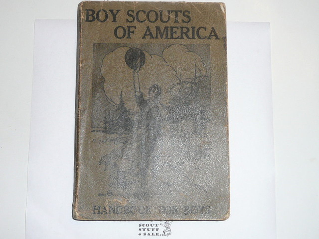 1911 Boy Scout Handbook, PROOF PRINTING, 320 Pages, NEAR MINT, the best condition we have ever seen