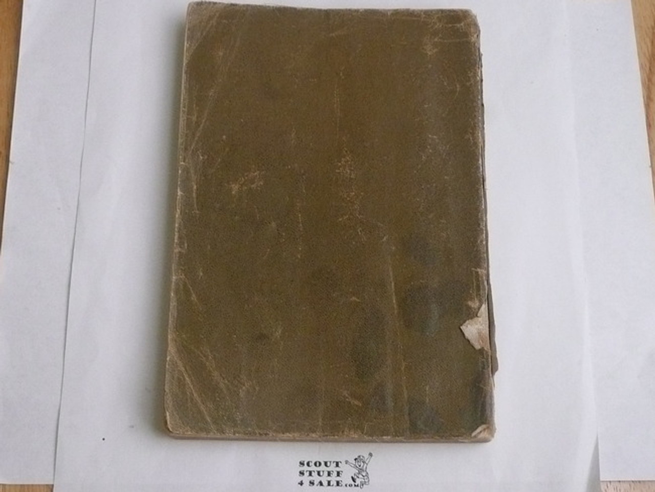 1911 Boy Scout Handbook, First Edition, PROOF PRINTING, 320 Pages, Some Cover and Spine Wear, RARE