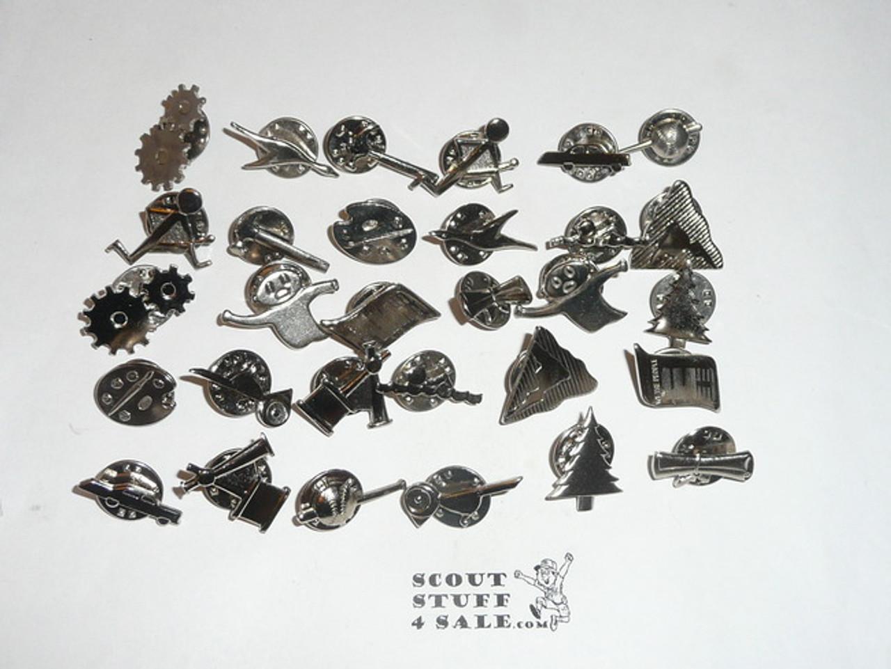 Group of 30 Webelos Activity Pins