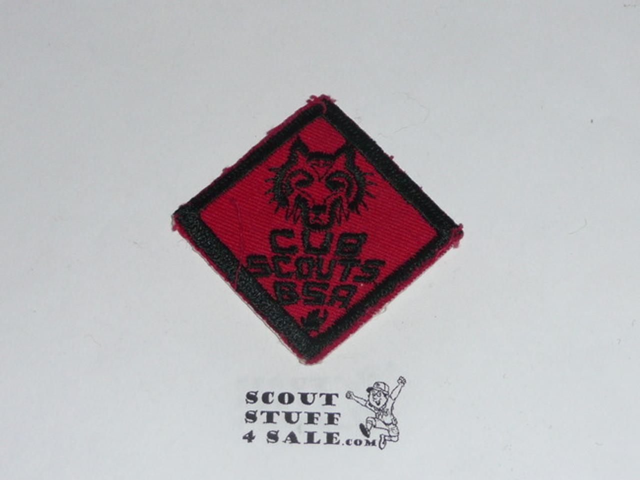 Wolf Cub Scout Rank, twill