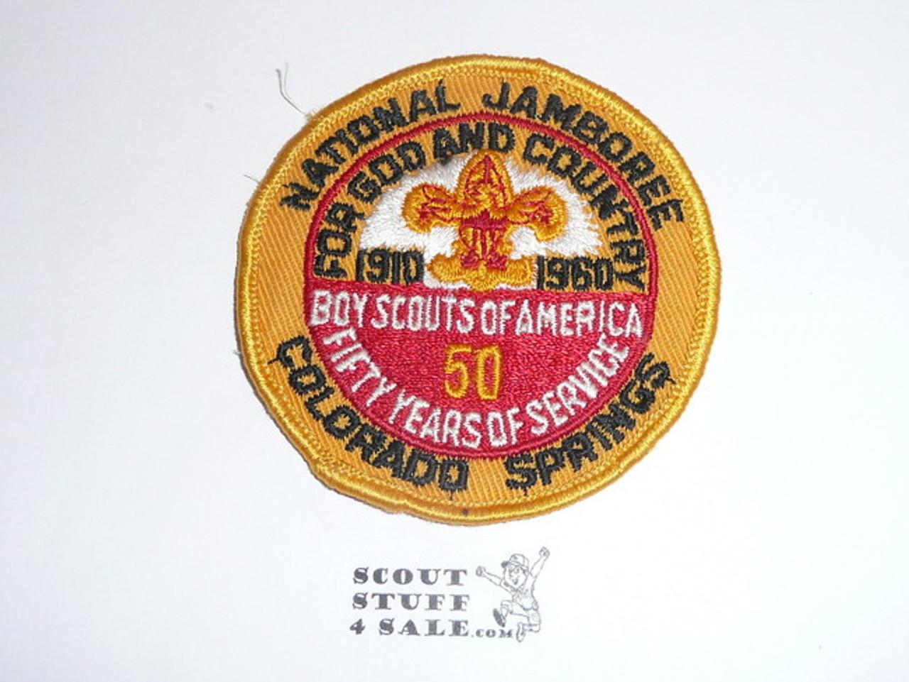 1960 National Jamboree Patch, Lt. Use
