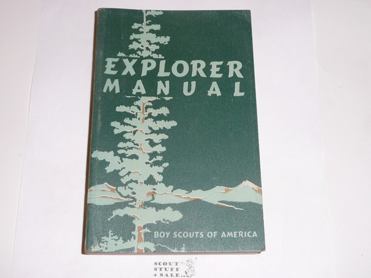 1952 Explorer Scout Manual, First Edition, 1952 Printing