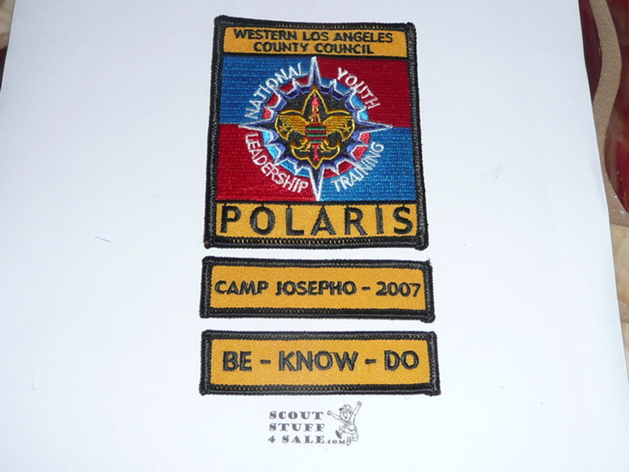 National Youth Leadership Training (NYLT) Program Participant Camp Josepho 2007 Segment Patch, Western Los Angeles County Council