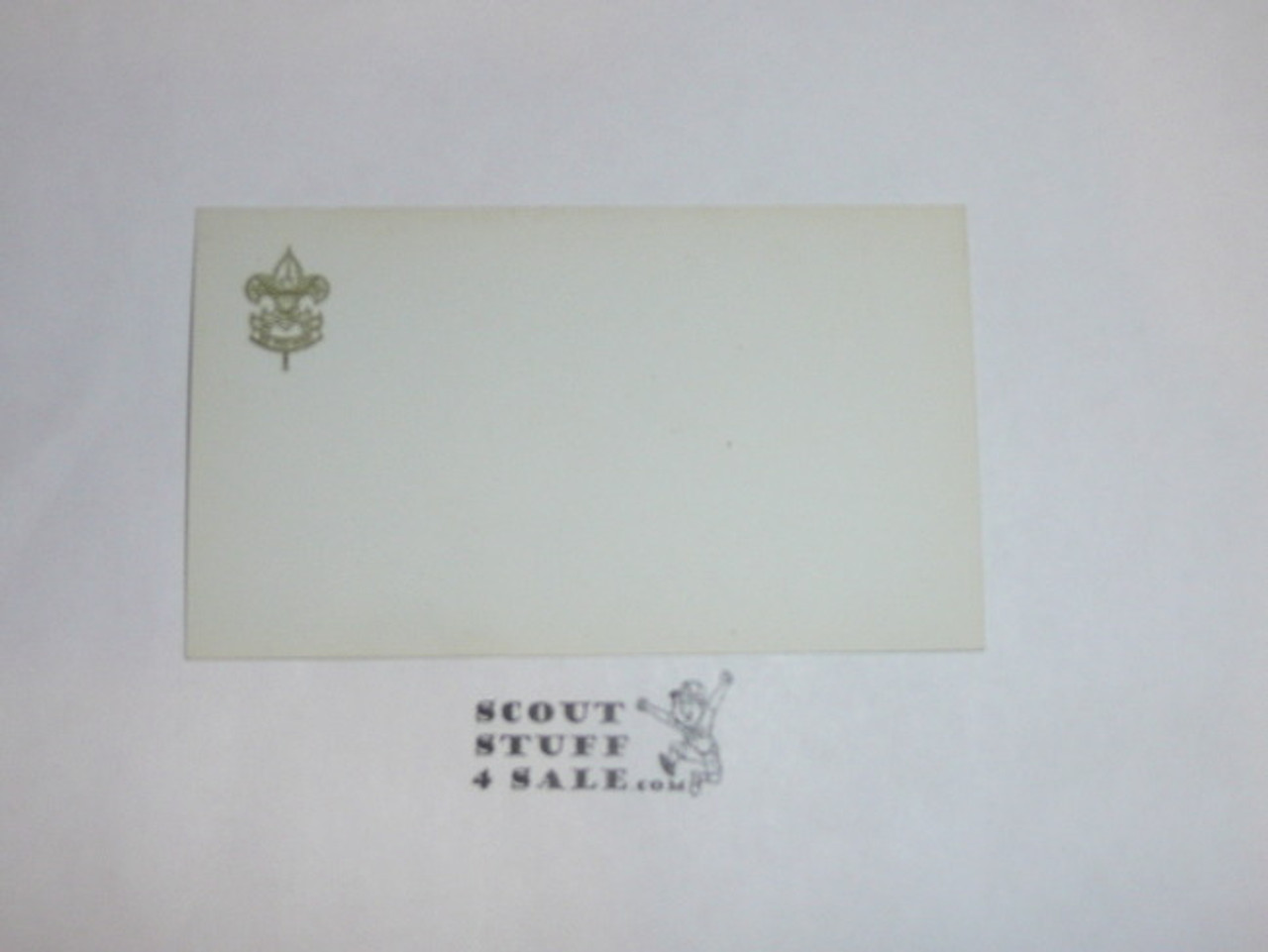 Boy Scout Business Card Blank