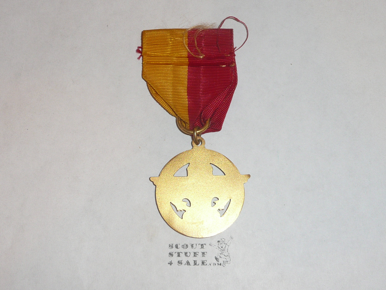 Explorer GOLD Award Medal, Type 1, 1940's, Very few were ever Awarded, MINT condition but not pin bar on back, RARE