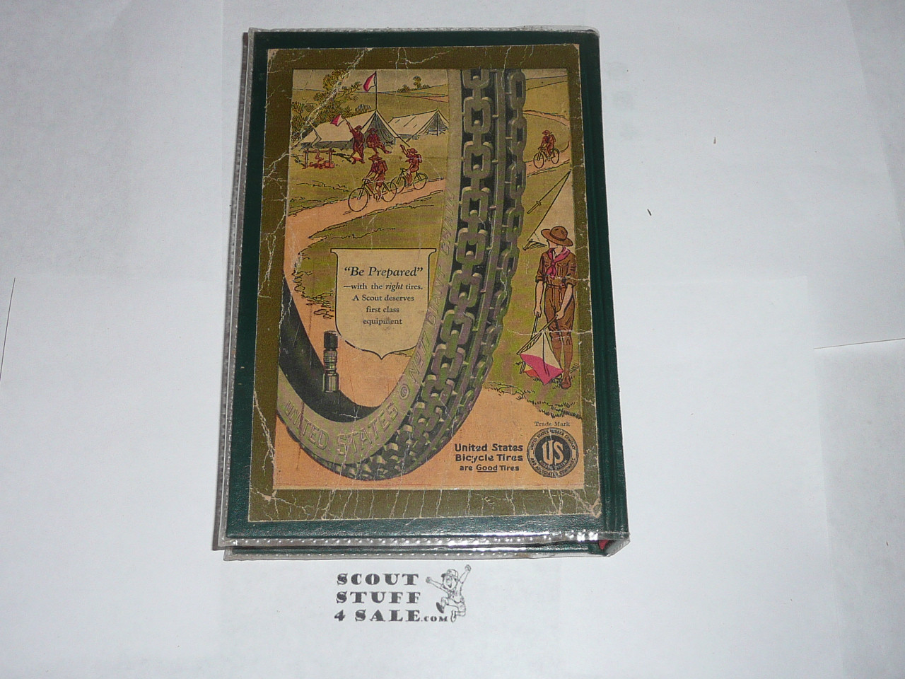 1925 Boy Scout Handbook, Second Edition, Thirty-second Printing, Hardbound copy, contents are MINT