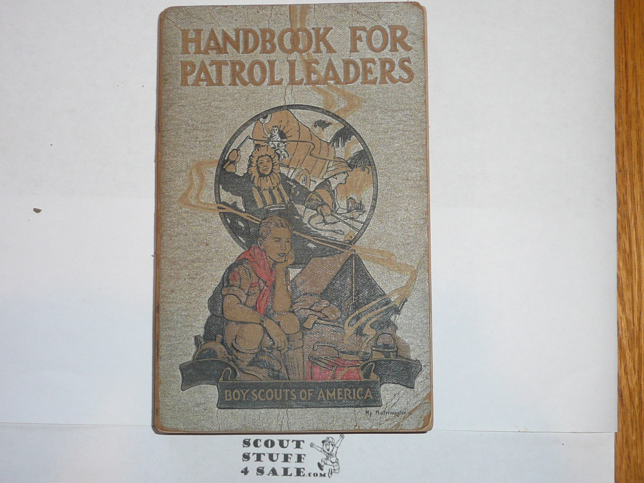 1945 Handbook For Patrol Leaders, First Edition, Fourteenth Printing, Very Good Used Condition