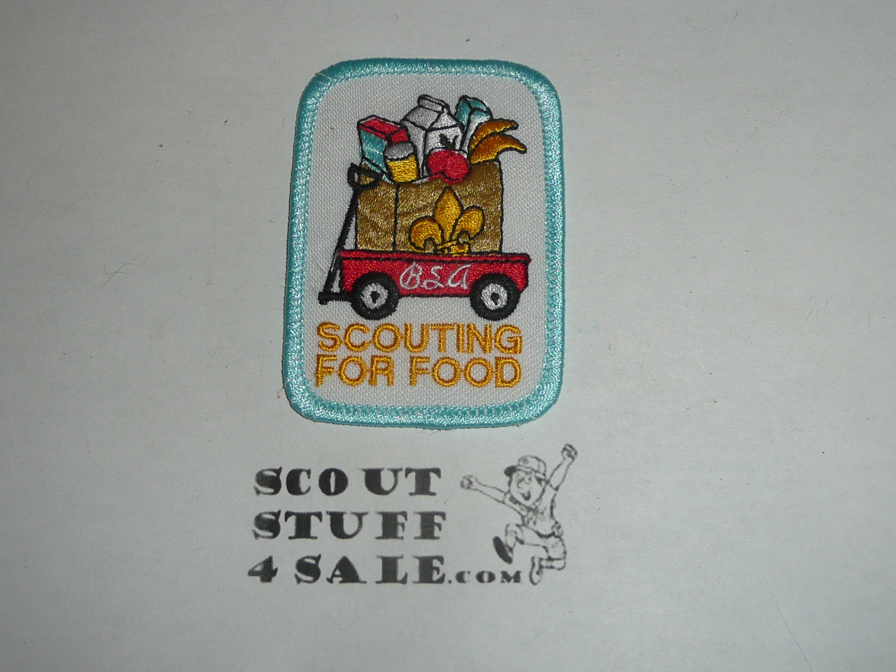 Scouting for Food Generic Patch, Wagon